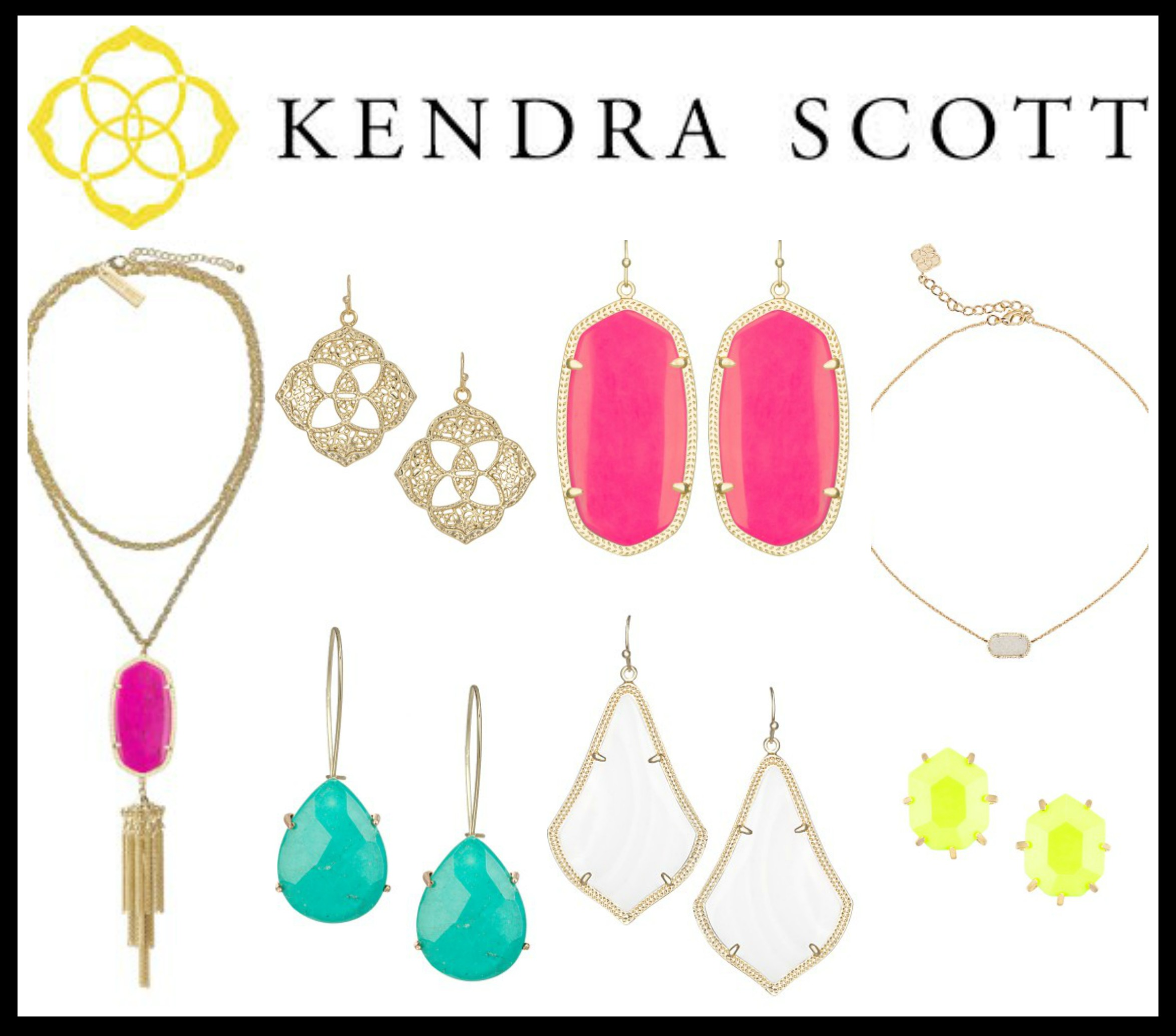 Sheaffer Told Me To Kendra Scott.  I just can't quit her.  AND I'VE GOT ANOTHER Kendra Scott CODE!