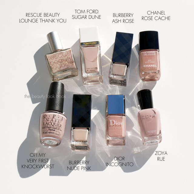 Beauty Look Book | Favorite Nude Pink Nail Polishes | The Beauty ...