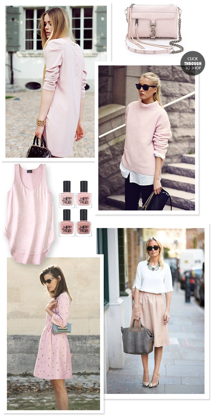 Pale Pink on What I Wore